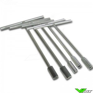T-handle socket set 5-pieces (8/10/12/13/14 mm)