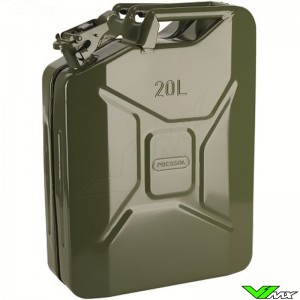 Jerrycan staal 20L Pressol