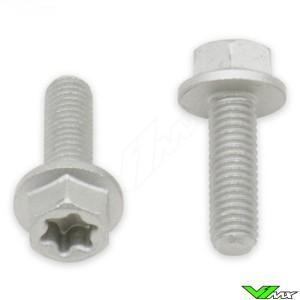 Torx hex head flange bolts M5