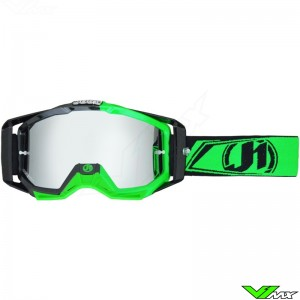 Just1 Iris MX Goggles Carbon Fluo Green