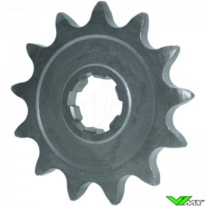Front sprocket steel PBR (420) - Honda CRF80F XR80