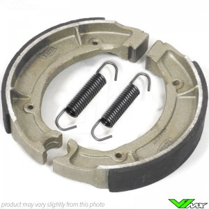 Brake shoes Front/Rear Tecnium - Kawasaki KLX110 Suzuki DRZ110 RM100 RM80