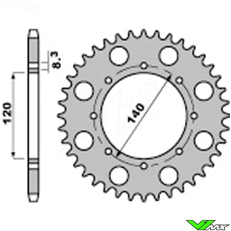 Klr Kawasaki Chain And Sprockets