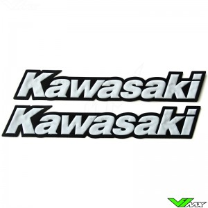 Kawasaki Legpatch white (2 pcs)