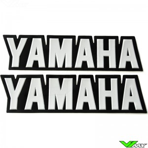 Yamaha Legpatch wit (2 stuks)