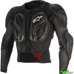 Alpinestars 2018 Bionic Action Jacket Body Protector Zwart / Rood