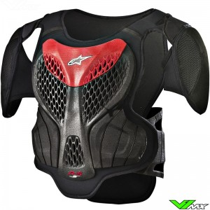 Alpinestars 2018 A5S Youth Body Protector Black / Red
