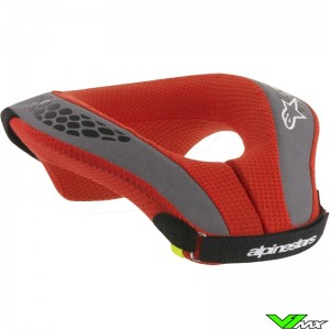 Alpinestars 2018 Sequence Youth Neck Roll Nekbrace Black / Red