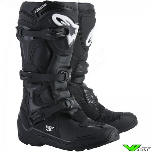 Alpinestars 2018 Tech 3 Enduro MX Boots Black