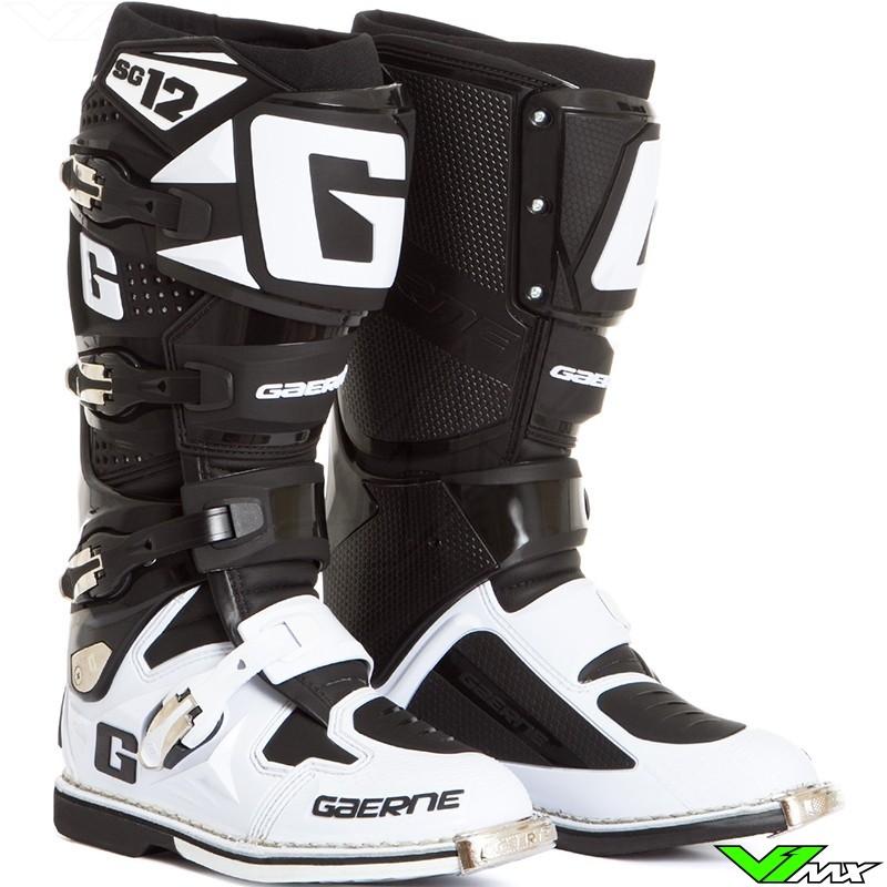 Gaerne SG-12 Boots Black//White, 13