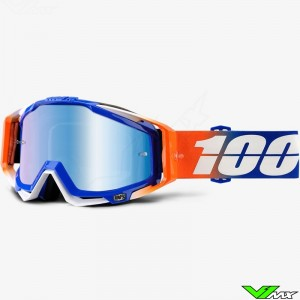 100% Racecraft Goggle Roxburry - Mirror Blue
