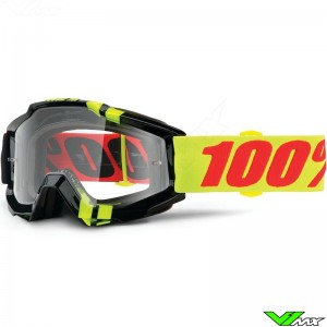 100% Accuri Goggle Zerbo - Clear Lens