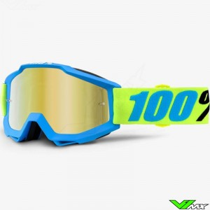 100% Accuri Goggle Belize - Mirror Gold