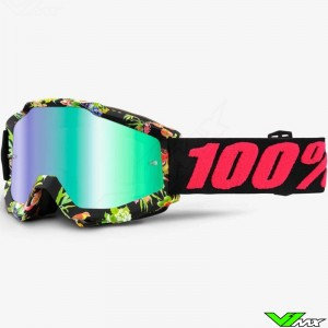 100% Goggle Accuri Chapter 11 - Mirror Green