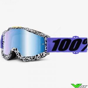 100% Goggle Accuri Brentwood - Mirror Blue
