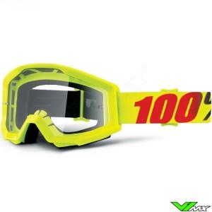 100% Strata Goggle Mercury - Clear Lens