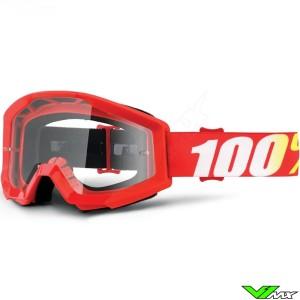 100% Strata Goggle Furnance - Clear lens
