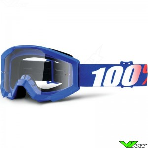 100% Strata Kids Goggle Nation - Clear Lens