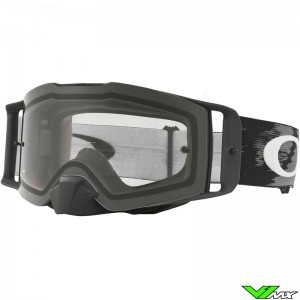 Oakley Frontline MX Goggle Matte Black - Clear Lens