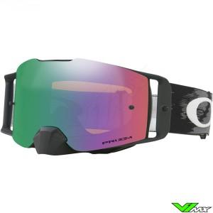 Oakley Frontline MX Crossbril Mat Zwart - Jade Iridium Lens