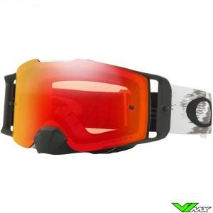 Oakley Frontline MX Crossbril Mat Wit - Prizm Torch Lens
