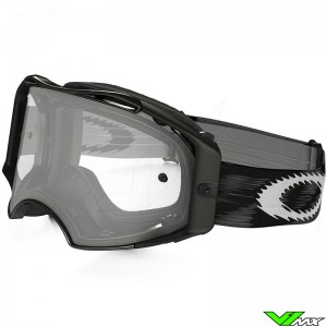 Oakley Airbrake MX Goggle Jet Speed Black - Clear Lens
