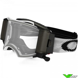 Oakley Airbrake MX Goggle Mat Speed White with Roll-off system