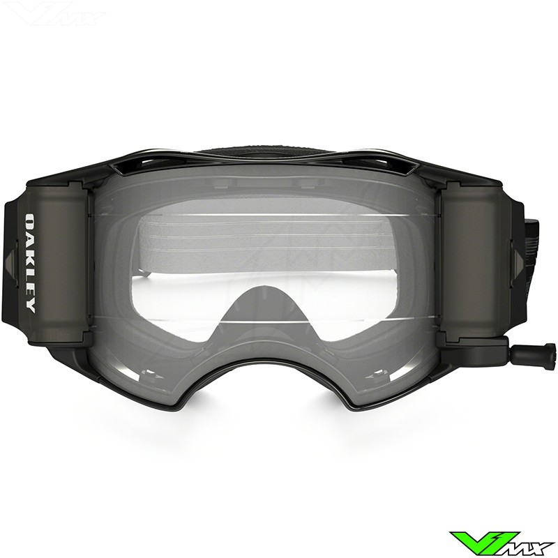 9c2b19054c7 ... Oakley Airbrake MX Goggle Jet Speed Black with Roll-off system