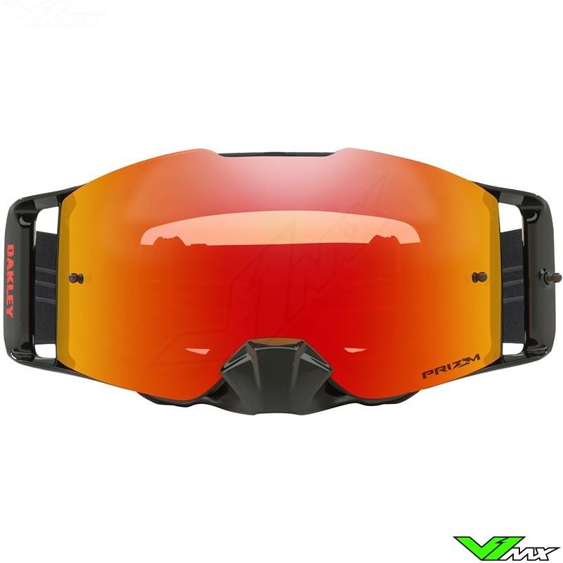 e24e02c60015 ... Oakley Frontline MX Goggle Factory Pilot Black - Prizm Torch lens