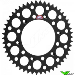 Renthal Rear Sprocket Aluminium Zwart KTM Freeride 14-..
