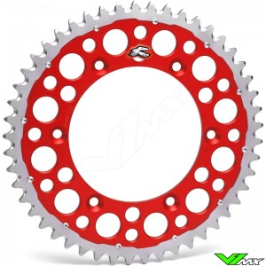 Renthal Twinring Rear Sprocket Rood CR 84-07 CRF 02-..