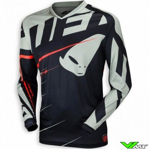 UFO Hydra Motocross Jersey Black Grey Red (S)