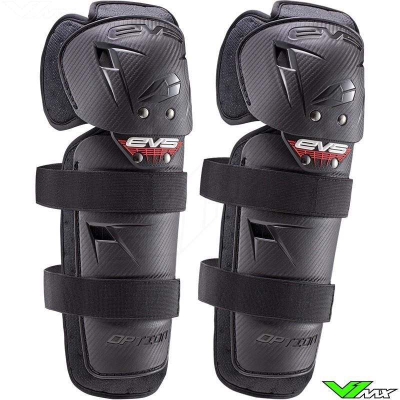 EVS Option Knee Guards Black