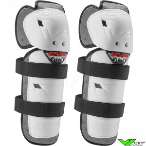 EVS Option Knee Guards White