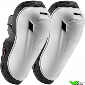 EVS Option Youth Elbow Guards White