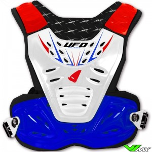 UFO Reactor 2 Motorcross Body Protector Kind Blauw Wit Rood