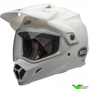 Bell MX-9 Adventure Enduro Helmet White