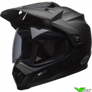 Bell MX-9 Adventure Enduro Helmet Black