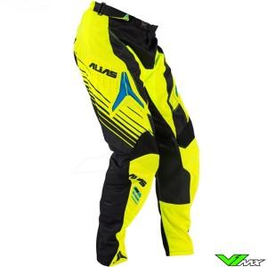 Alias A1 MX Pants Black / Neon Yellow (32)
