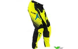 Alias A1 MX crossbroek zwart / neon geel (32)