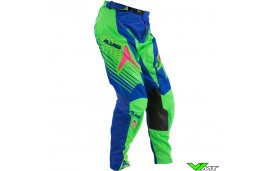 Alias A1 MX Pants Blue / Neon Green (32)