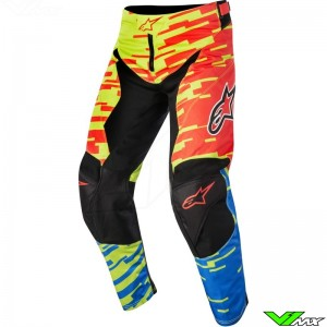 Alpinestars Racer Braap MX pant Red / Blue / Lime (30)