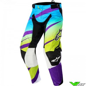 Alpinestars Techstar Venom MX pant Green / Purple (32)