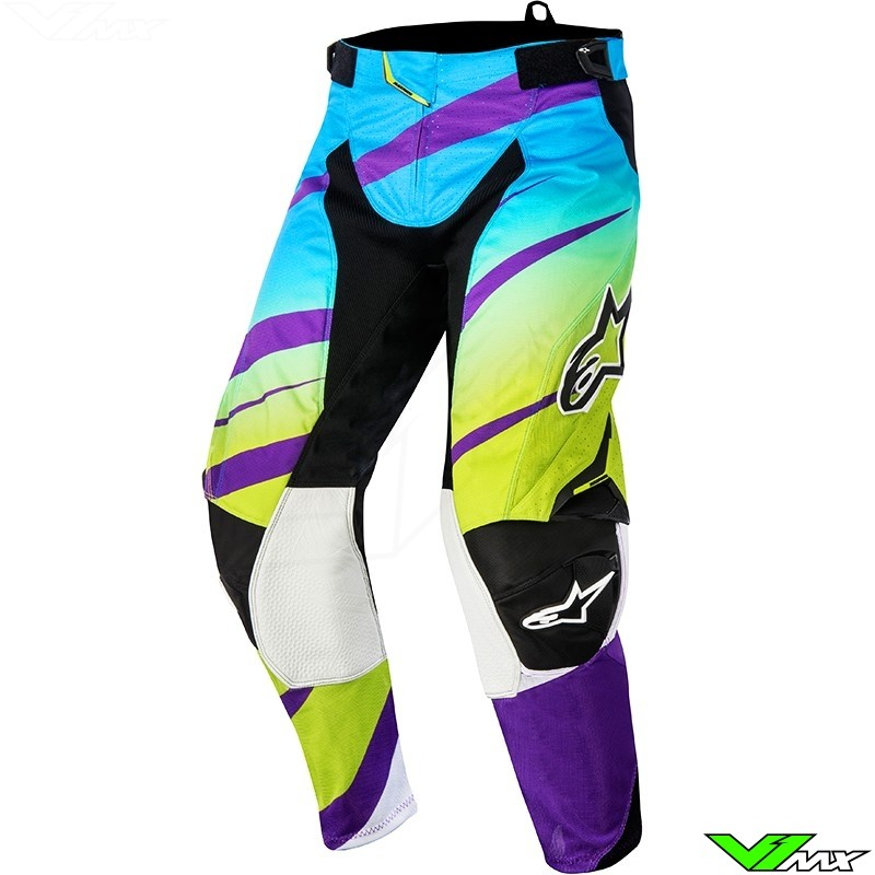 Alpinestars Techstar Venom MX pant Green / Purple (32/34)