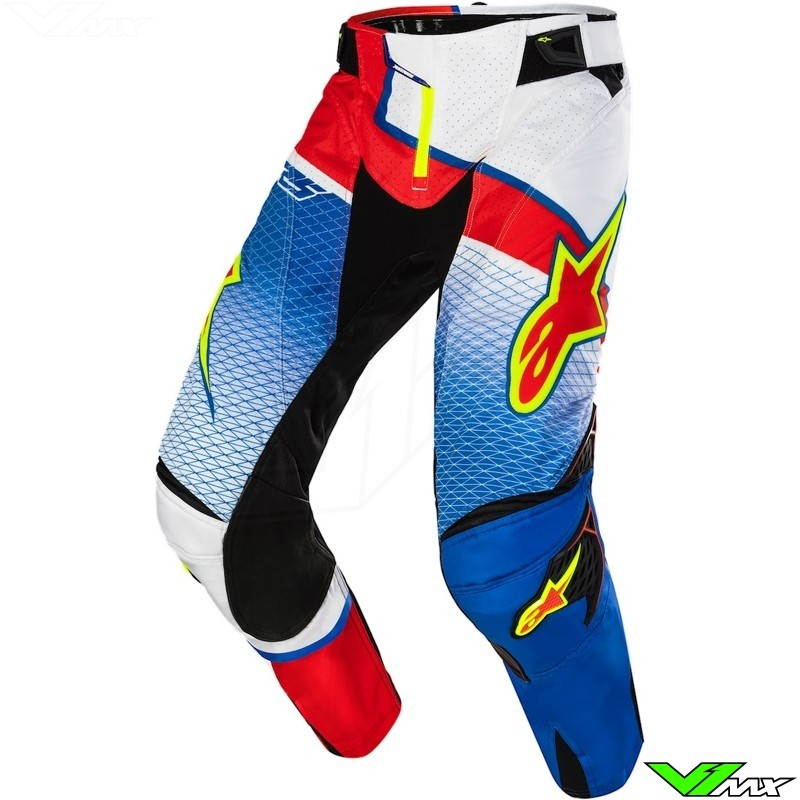 Alpinestars Techstar Venom MX pants Red Bud (30)