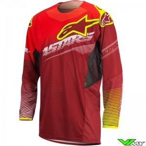 Alpinestars Techstar Factory Cross shirt Rood (S)