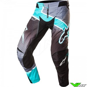 Alpinestars Techstar Venom Crossbroek Zwart / Teal