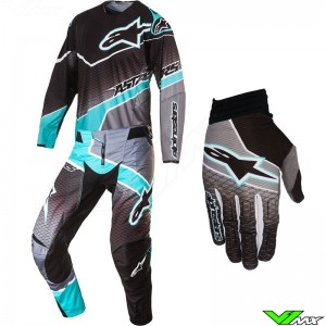 Alpinestars Techstar Venom Gear Combo Black / Gray / Teal