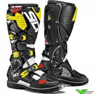 Sidi Crossfire 3 Motocross Boots Black Yellow