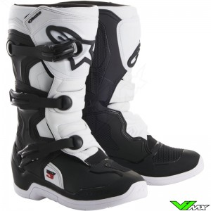 Alpinestars 2018 Tech 3S Youth MX Boots Black / White